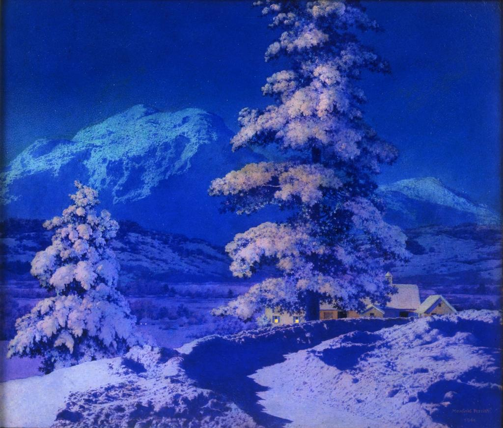 Desert Without Water by Maxfield Parrish