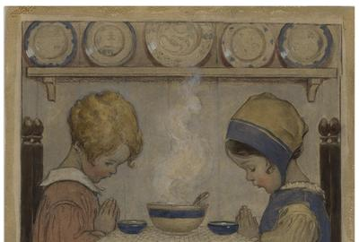 Jessie Willcox Smith Original Cover Art for''Good Housekeeping''