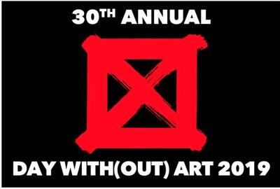 STILL BEGINNING, 30th Annual Visual AIDS Day With(out) Art.  Courtesy of visualaids.org