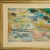 This watercolor painting, done in 1960 by John F.  Kennedy, before he became President, will be sold Nov.  22-24.