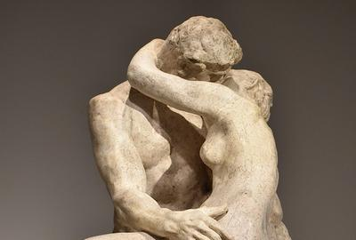 Rodin, The Kiss, 1882, marble.