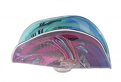 Art Glass, James Nowak, Clamshell Sculpture