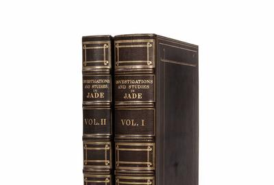 One of only one hundred copies in the world, a near-pristine copy of Heber Bishop's Investigations in Jade brought $137,500, including buyer's premium