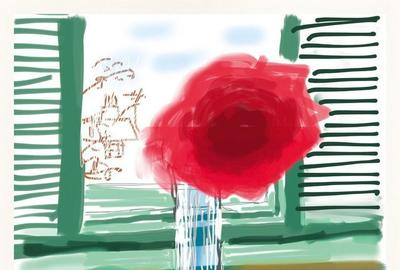 David Hockney - iPad-Drawing 'No.  281', 23rd July 2010, 2019