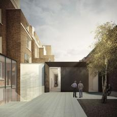 Rendering of Cromwell Place, a new art community opening in London in May 2020.