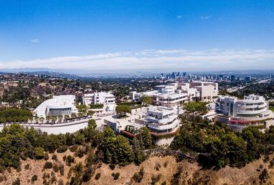The Getty Center © 2017 J.  Paul Getty Trust