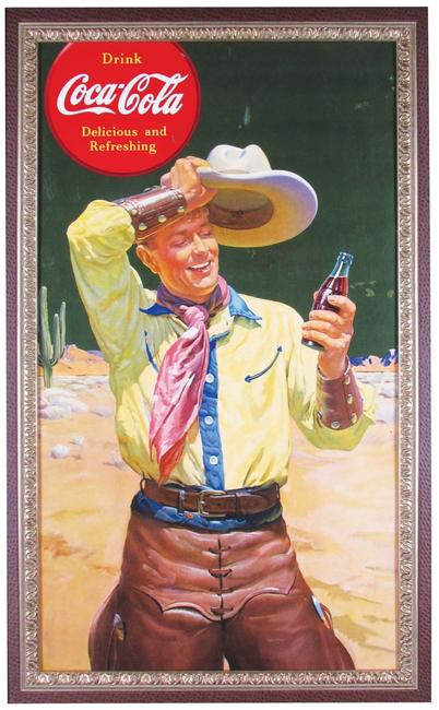 Coke, Winchester and other rare antique posters will be sold