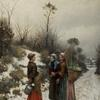 Daniel Ridway Knight - In Winter