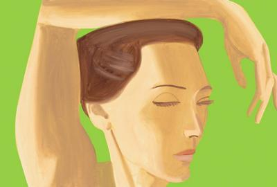 Alex Katz - Homage to Degas.