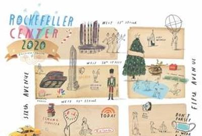 Oliver Jeffers has been selected as the commissioned artist for the 2020 holiday public art installation at Rockefeller Center.