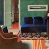 Félix Vallotton (Swiss, 1865–1925).  The Visit, 1899.  Gouache on cardboard, 21 7/8 x 34 1/4 in.  (55.5 x 87 cm).  Kunsthaus Zürich.  Acquired 1909, © Kunsthaus Zürich
