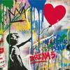 Mr.  Brainwash Balloon Girl - Galerie Frank Fluegel.