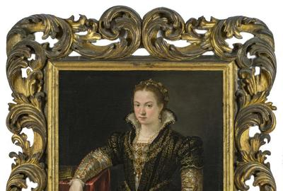 Lavinia Fontana (Italian, 1552-1614), Portrait of a Lady, 1585.  Virginia Museum of Fine Arts.
