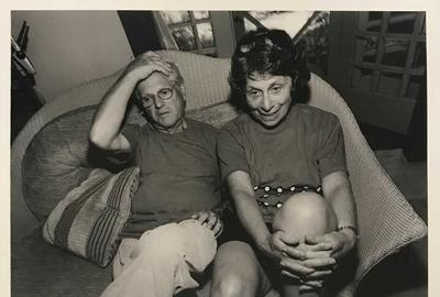 Richard and Carole Rifkind photographed by Lee Friedlander.