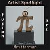 Jim Harman Artist Spotlight Solo Art Exhibition www.fusionartps.com