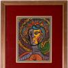 Original gouache on paper portrait of a woman by Cuban artist Amelia Pelaez (1896-1968), signed and with an image area of 16 inches by 11 ¾ inches (est.  $10,000-$20,000).