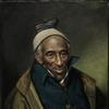 Portrait of Yarrow Mamout (Muhammad Yaro), 1819.  Charles Willson Peale, American, 1741 - 1827.  Oil on canvas.  24 x 20 inches (61 x 50.8 cm).  Philadelphia Museum of Art