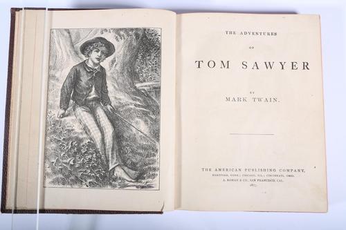 Mark Twain,The Adventures of Tom Sawyer, 1877 Lark Mason Associates
