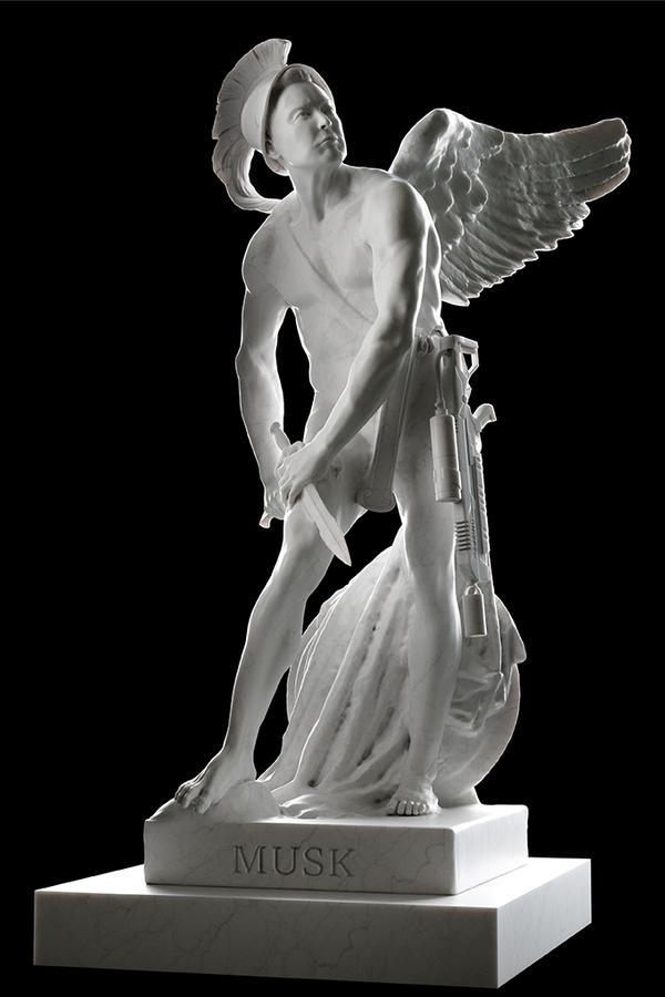Sebastian Errazuriz Sculpture Exhibition 39Beginning Of The End