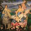 Alfredo Ramos Martinez, Flores Mexicanas , 1914 - 29, oil on canvas, Missouri Historical Society Collections.  © The Alfredo Ramos Martínez Research Project, reproduced by permission