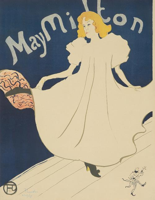 Henri de Toulouse-Lautrec, May Milton, 1895 ($31,200) Poster Auctions International
