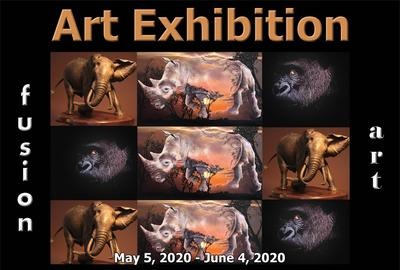 5th Annaul Animal Kingdom Art Exhibition www.fusionartps.com