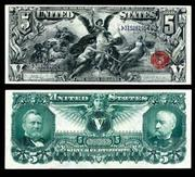 This $5 United States Educational note with stunning graphics front and back will be sold Oct.  19 & 22.