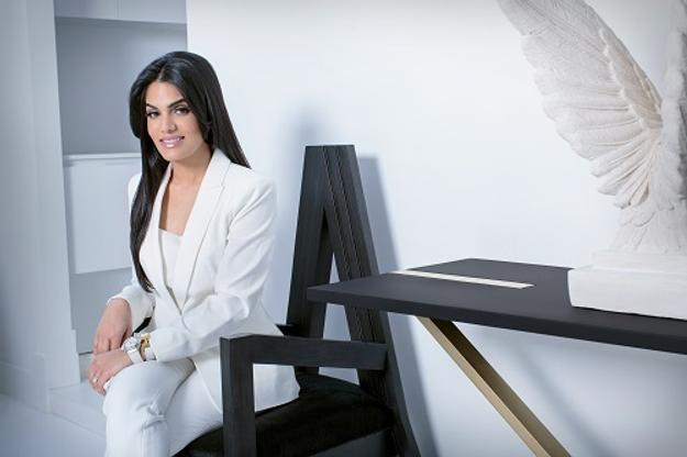 Celebrity Interior Designer Nina Magon of Contour Interior Design provides complimentary design seminars throughout Labor Day weekend.  Magon and her team find inspiration in paintings by local artist, Lorie Ofir.  Magon's room is dedicated to CBS4's Rudabeh Shahbazi.