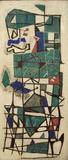 Louis Schanker, Abstraction, 1946