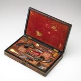 Pair of Philadelphia Dueling Pistols, Sold For: $ 45,880
