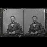 Collodion Negative of Abraham Lincoln's Last Sitting - estimate $40,000/60,000