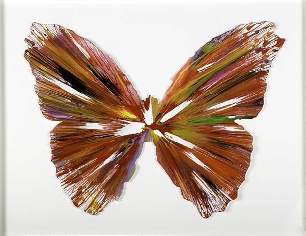 Damien Hirst, Spin Painting (Butterfly), $7,000-$9,000, Auction Date: November 17, 2012