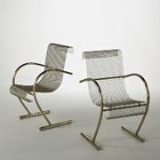Lot 1213, Shiro Kuramata-XO, Pair of Sing Sing Sing chairs, $1,200-1,800