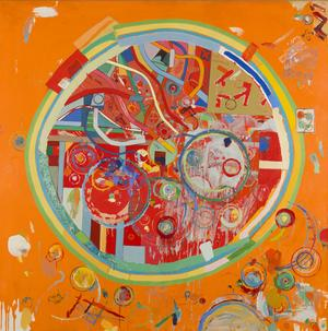 Pedazos del Mundo #26, 1962.  Oil on linen, 56 x 56 inches.