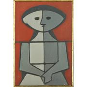 Lot 136, Milton Dacosta, Figura, Sold for: $41,250