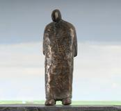 Lonely Man, bronze, 9 inches high