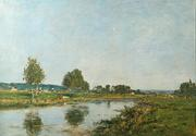 Lot 29: Eugune Boudin, one of two oils in the June 8th auction.