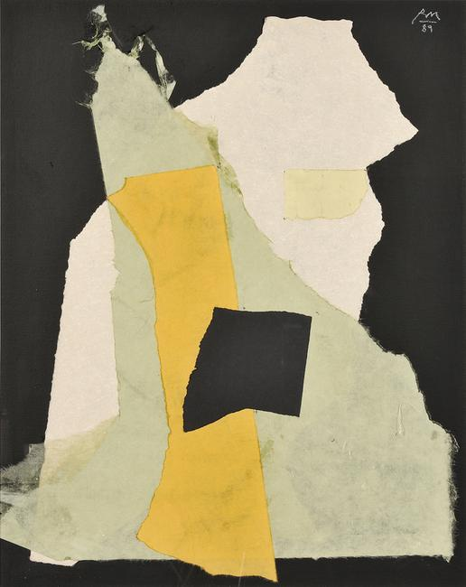 Robert Motherwell (American, 1915-1991) Night Music Opus #24, 1989 (Lot 477, Estimate $40,000-$60,000)