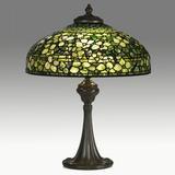 Tiffany Studios, Lamp with Dogwood Shade, $95,000-125,000