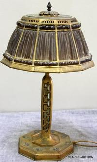 Rare Tiffany Studios Table Lamp.  Sold for 12,200.