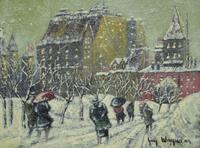 """The Plaza"", Guy Carleton Wiggins"