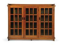 L.  & J.G.  Stickley Bookcase to be sold at Garth's Auctions on October 30, 2010.  Estimate $10,000-15,000