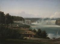 Ferdinand Richardt Niagara.  c.  1855.  Oil on canvas.  25 x 33 in.  August Heckscher Collection 1959.12