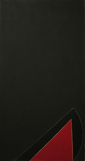 "Seymour Boardman, Untitled, 1964, Acrylic on Canvas, 72"" x 38"""