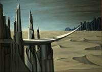"Kaye Sage, ""Danger, Construction Ahead,"" 1940, ©Estate of Kay Sage Tanguy.  ©Yale University Art Gallery photo."