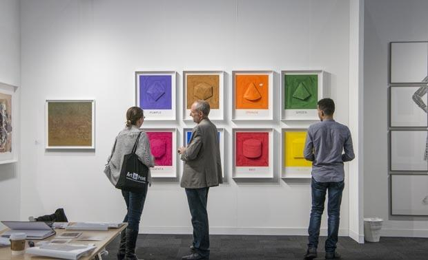 Image from the 2017 Fine Art Print Fair