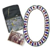 Lot 2051 - Marie Zimmermann - Enameled Yellow Gold & Gemset Collar Necklace - $35,000 - 55,000