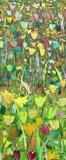 Regula Mathys, Spring Fever I, Mixed Media on Canvas, 50 x 120 cm, 2012