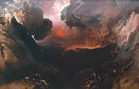 "John Martin, ""The Great Day of His Wrath,"" 1851-3, in the exhibition ""John Martin: Apocalypse"" at Tate Britain September 21, 2011 – January 15, 2012."