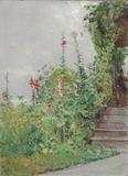 Childe Hassam, Celia Thaxter's Garden, Oil on canvas, Painted circa 1890.  Estimate: $1,000,000-1,500,000